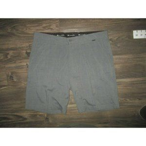 Travis Mathew Men Sz 36 Gray Golf Shorts